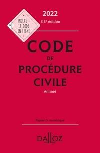 Pierre Callé - Code de procédure civile 2022, annoté - 113e ed..