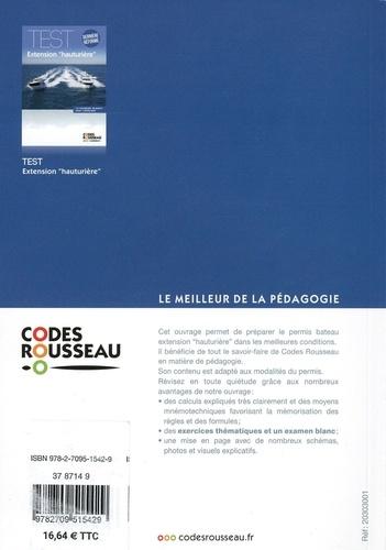 "Code extension ""hauturière"". Avec exercices  Edition 2021"