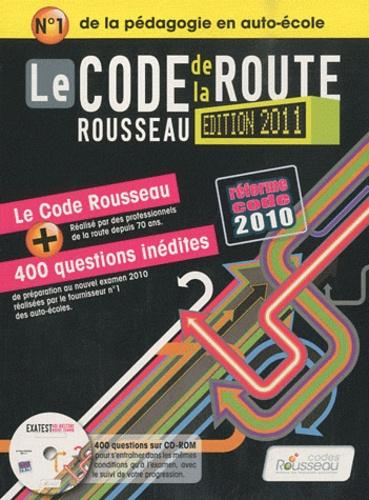Codes Rousseau - Le code de la route Rousseau. 1 Cédérom