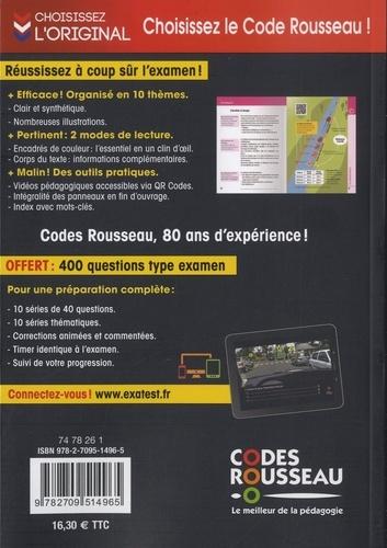 Le code de la route Rousseau  Edition 2020