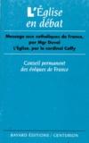 Coffy et  Collectif - L'Église en débat.