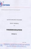 Cofrend - Certification du personnel CND Thermographie niveau 2 - Questionnaire d'examen Ecrit général.