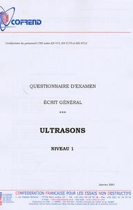 Openwetlab.it Certification du personnel CND Ultrasons niveau 1 - Questionnaire d'examen Ecrit général Image