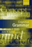 Cognitive Grammar.
