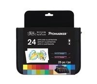 COLART DISTRIBUTION - Trousse marqueurs Promarker / 24 Assortiment Feuilles de palmier