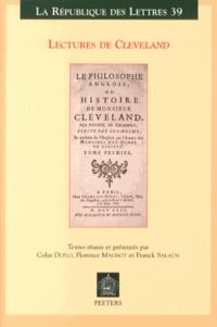Colas Duflo et Florence Magnot - Lectures de Cleveland.