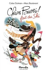 Colas Gutman et Marc Boutavant - Chien Pourri fait du ski.
