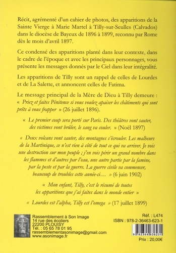 Apparitions de Tilly. Message complet