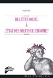 Colette Bec - De l'Etat social à l'Etat des droits de l'homme ?.