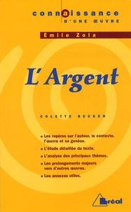 Deedr.fr L'Argent d'Emile Zola Image