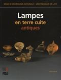 Colette Bémont - Lampes en terre cuite antiques.