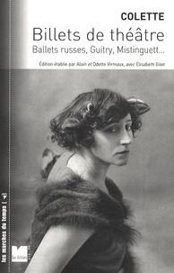 Deedr.fr Billets de théâtre - Ballets russes, Guitry, Mistinguett... Image