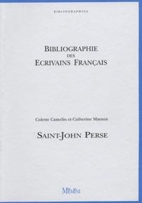 Colette Camelin et Catherine Mayaux - Saint-John Perse.
