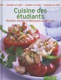 Colette Chauvin-Brandscheid - Cuisine des étudiants - Recettes simples et délicieuses à petits prix.