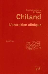 Colette Chiland - L'entretien clinique.