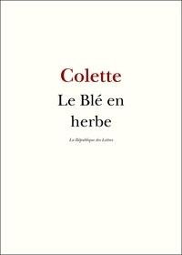 Colette Colette - Le blé en herbe.