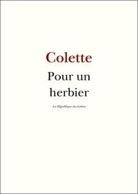 Colette Colette - Pour un herbier.