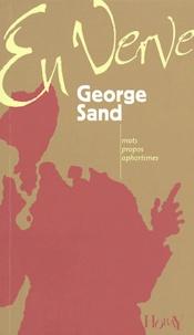 Colette Cosnier - George Sand en verve.
