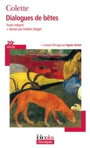 Colette - Dialogues de bêtes.