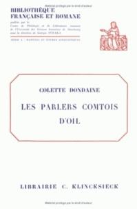 Les parlers comtois d'oil- Etudes phonétiques - Colette Dondaine | Showmesound.org