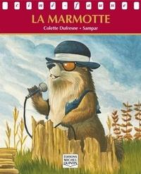 Colette Dufresne et  Sampar - Ciné-faune - La marmotte.