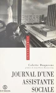 Colette Duquesne et Jean-Pierre Rosenczveig - Journal d'une assistante sociale.