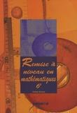Colette Durand - Remise à niveau en mathématiques, 6e. 1 CD audio