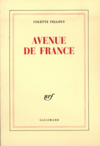 Colette Fellous - Avenue de France.