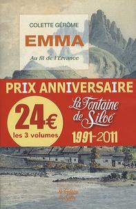 Colette Gérôme et Rosemonde Pujol - Emma ; Le corset d'argent ; Ave Maria - Pack 3 volumes Chants de la terre.