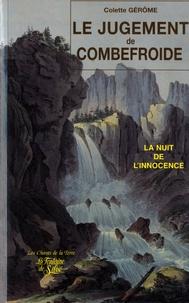 Colette Gérôme - Le jugement de Combefroide.