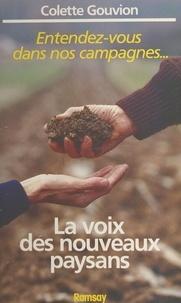 Colette Gouvion - La Voix des nouveaux paysans.