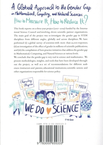 A Global Approach to the Gender Gap in Mathematical, Computing, and Natural Sciences. How to Measure It, How to Reduce It?