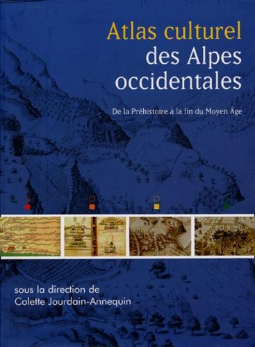 Colette Jourdain-Annequin et Maryvonne Le Berre - Atlas culturel des Alpes occidentales.