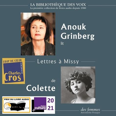 Colette et Anouk Grinberg - Lettres à Missy.