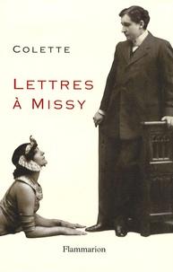 Colette - Lettres à Missy.