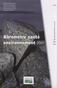Colette Ménard et Delphine Girard - Baromètre santé environnement 2007.