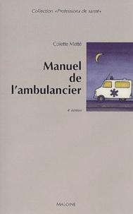 Deedr.fr Manuel de l'ambulancier - Préparation au certificat de capacité d'ambulancier Image