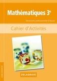 Colette Moulin-Berger et Tony Paquet - Mathématiques 3e Découverte professionnelle 6 heures - Cahier d'activités.