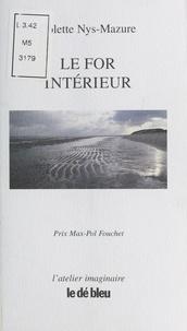 Colette Nys-Mazure - Le for intérieur.