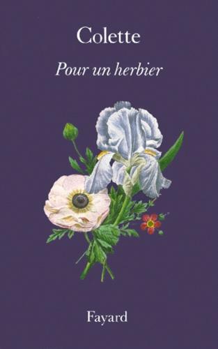 Pour un herbier