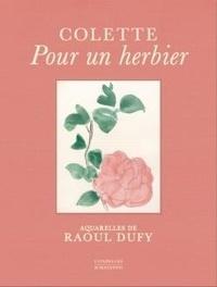 Colette et Raoul Dufy - Pour un herbier.