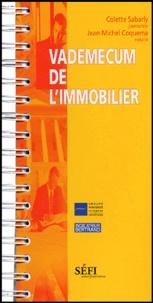 Colette Sabarly et Jean-Michel Coquema - Vademecum de l'immobilier.