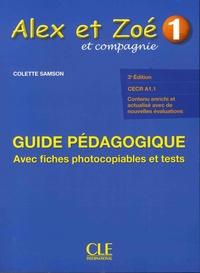 Colette Samson - Alex et Zoé et compagnie 1 - Guide pédagogique.