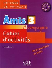 Colette Samson - Cahier d'activités - Méthode de français A2 B1.