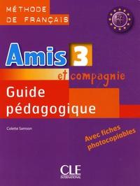 Colette Samson - Guide pédagogique - Méthode de français A2 B1.