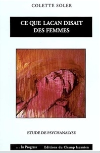 Ce que Lacan disait des femmes - Etude de psychanalyse.pdf