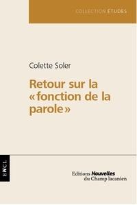 Colette Soler - Retour sur.