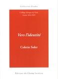 Colette Soler - Vers l'identité - Cours 2014-2015.