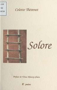 Colette Thévenet - Solore.