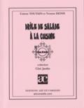 Colette Toutain - Drôle de salade à la cuisine.